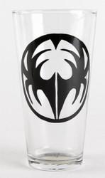 KISS Pint Glass - Gene Icon