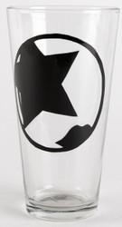 KISS Pint Glass - Paul Icon