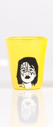 KISS Shotglass - Yellow, Ace Frehley.