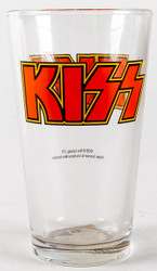 KISS Pint Glass - Red Logo