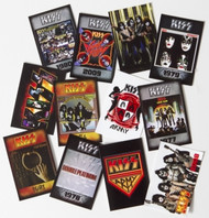 KISS Stickers - Rock Tags Stickers, SINGLES