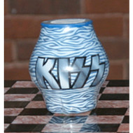 KISS Candle - Logo Zebra stripe