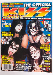 KISS Magazine - Official KISS ALIVE Magazine '96