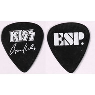 KISS Guitar Pick - ESP Guitars Promo black, Bruce Kulick