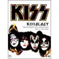 KISSology 3 DVD with bonus Sao Paulo Brazil '94 concert (open)