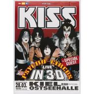 KISS Poster - German Psycho Circus Berlin '99