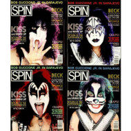 KISS Magazine - Spin 8/86, (set of four)