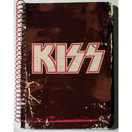 KISS Spiral Notebook - Logo MINI