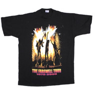 KISS T-Shirt - Farewell Sparks, tour dates, (size XXL)