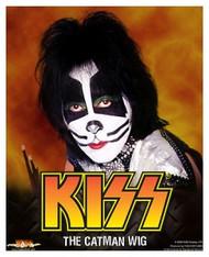 KISS Costume Wig - Peter, (NO HEADER CARD)