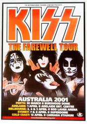 KISS Poster - Australian 2001 Concert Poster