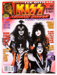 KISS Magazine - Official Psycho Circus Tour Magazine '98