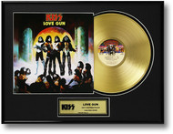 KISS Gold Record - Love Gun LP