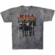 KISS T-Shirt - Love Gun TIE-DYE - SIZE MEDIUM