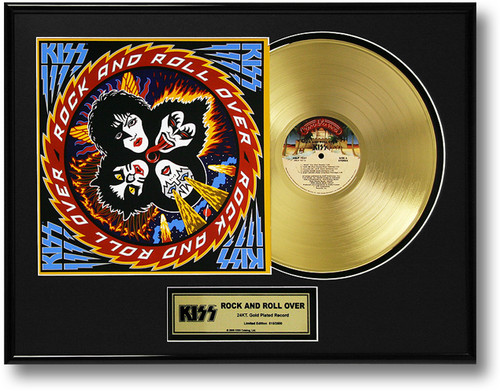 Kiss Gold Record Rock And Roll Over Lp Kiss Museum