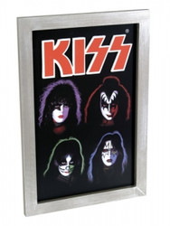 KISS Wall Art - 3-D Solo Faces