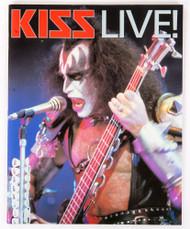 KISS Book - KISS Live!