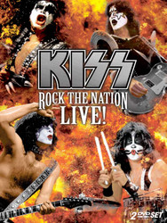 KISS Rock the Nation Live - DVD (open)