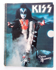 KISS Spiral Notebook - Gene Simmons '78, (8/10)