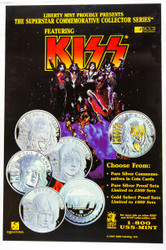 KISS Poster - Coin promo poster