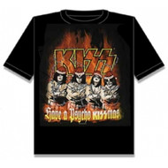 KISS T-Shirt - Have a Psycho KISSmas, (size XL)