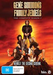 Gene Simmons Family Jewels - Season 2 DVD
