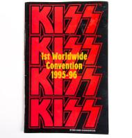 KISS Tourbook - Alive Worldwide Convention Program 1995