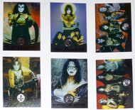 KISS Trading Cards - Cornerstone Foil Chase Card Subset of 6
