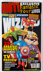 KISS Comic - Wizard alternate w/stickers 9/98
