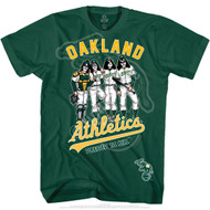 KISS T-Shirt - Oakland Athletics MLB Baseball