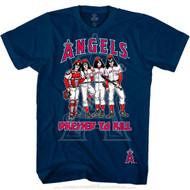 KISS T-Shirt - Los Angeles Angels MLB Baseball, (size M only)