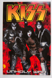 KISS Comic - Dark Horse Graphic Novel, Unholy War #4