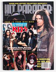 KISS Magazine - Hit Parader August 1992