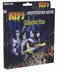 KISS Pins - Guitar Collector Pins set