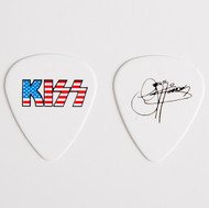 KISS Guitar Pick - Hottest Show on Earth, Flag Gene
