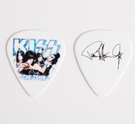 KISS Guitar Pick - The Tour, group photo Paul