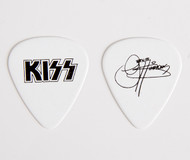 KISS Guitar Pick - The Tour, white w/black logo Gene