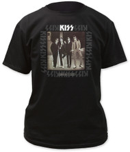 KISS T-Shirt - Dressed to Kill album, (size L)