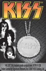 KISS Necklace - KISS Logo