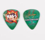 KISS Guitar Pick - Hollywood FL, Eric 2011