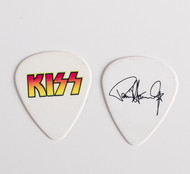 KISS Guitar Pick - The Tour 2012, Paul red and yellow logo
