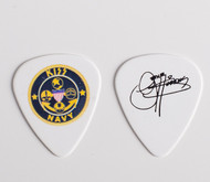 KISS Guitar Pick - KISS Navy Emblem, Gene
