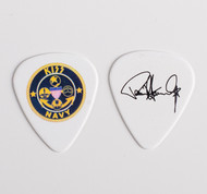 KISS Guitar Pick - KISS Navy Emblem, Paul