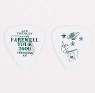 KISS Guitar Pick - Ace Frehley City Pick, Pensacola white