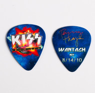 KISS Guitar Pick - Hottest Show on Earth 2010, Tommy Wantagh