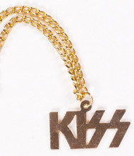 KISS Logo Necklace - Unofficial Vending Machine version, '79