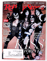 KISS Magazine - Rolling Stone, April 10, 2014