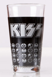 KISS Pint Glass - Icons, single