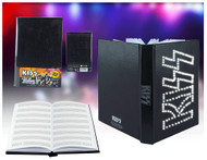 KISS Electronic Light-Up Journal, (music manuscript pages)