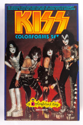 KISS Colorforms set, 1978.